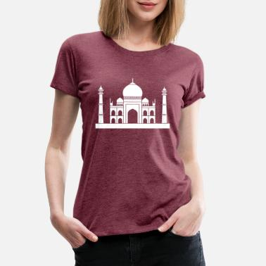 Sanskrit India Tadsch Mahal India - Women's Premium T-Shirt