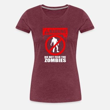 I Dont Shoot Zombie Womens T-Shirt