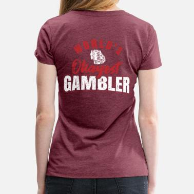 Roulette Gamblers and gambling - Women's Premium T-Shirt