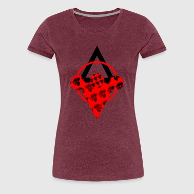 Skulls Red - Women's Premium T-Shirt