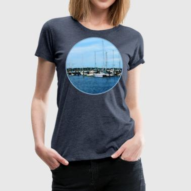 Boats At Newport RI - Women's Premium T-Shirt