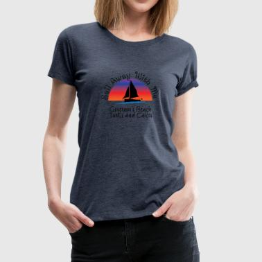 For Governor governor's beach - Women's Premium T-Shirt