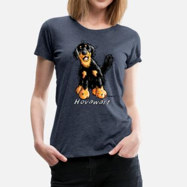 Hovawart Funny Hovawart - Hovie - Dog - Dogs - Gift - Comic - Women's Premium T-Shirt