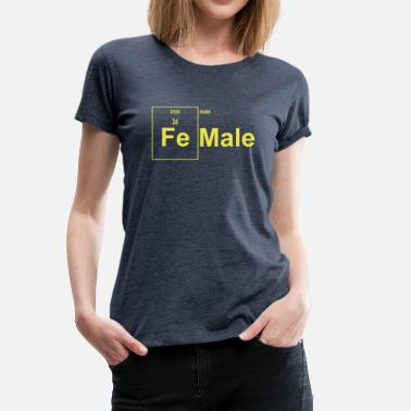 Feminine Side Female (Iron Man) - Women's Premium T-Shirt