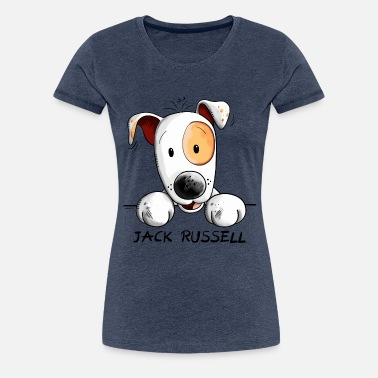 It/'s OK I/'m With the Jack Russell Womens Tee Shirt
