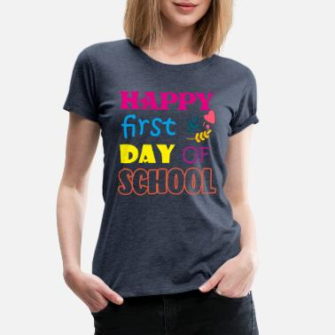School Bus BACK TO SCHOOL 9 - Women's Premium T-Shirt