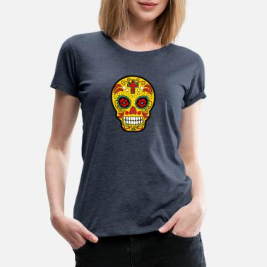 Day Of The Dead Sugar Skull Mexican Day of the Dead - Women's Premium T-Shirt