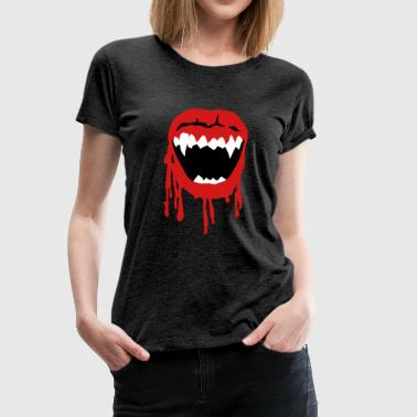 Blood Stains Vampire - Women's Premium T-Shirt