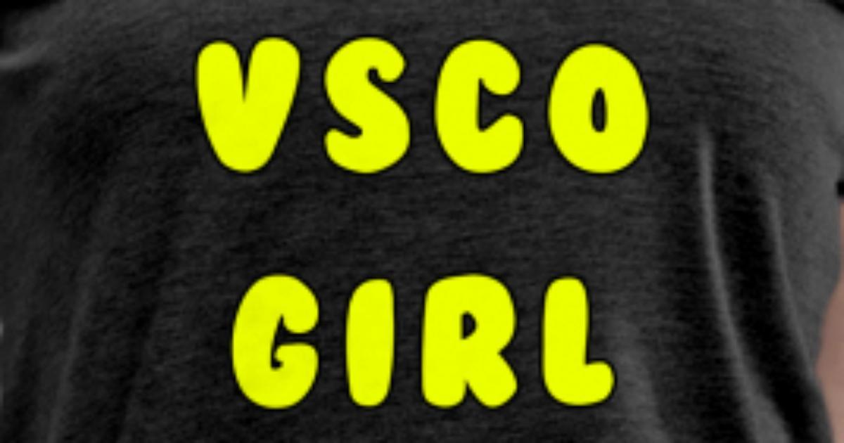 Vsco girl Women's Premium T-Shirt | Spreadshirt