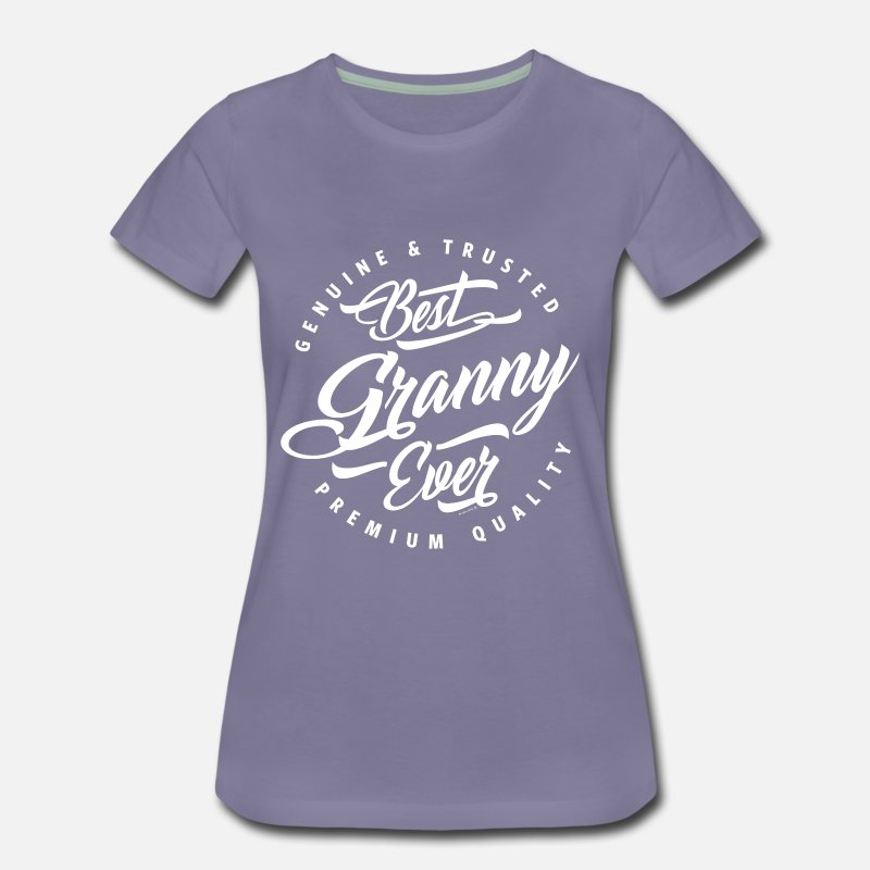 Gamma T-Shirts - Best Granny Ever - Women's Premium T-Shirt washed violet