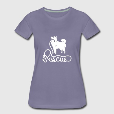 Rescue Dog T shirt - Women's Premium T-Shirt