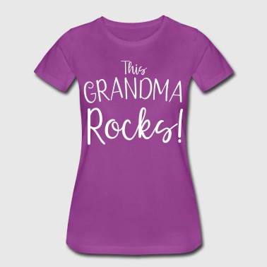 This Grandma Rocks! - Women's Premium T-Shirt