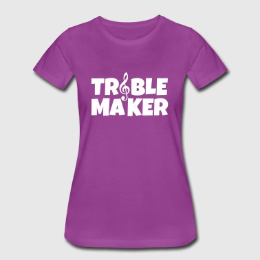Treble Maker Musician Fun - Women's Premium T-Shirt