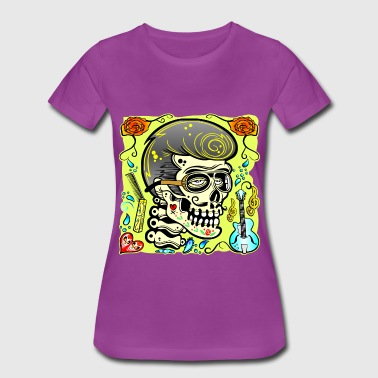 1950s Rock Music Zombie 1950's Rock & Roll  - Women's Premium T-Shirt