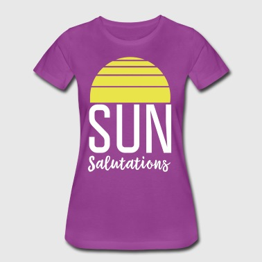 Sun Salutations - Women's Premium T-Shirt