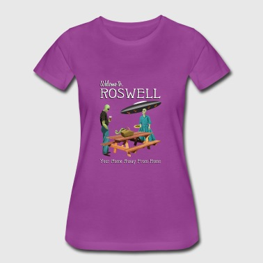 Welcome To Roswell - Women's Premium T-Shirt