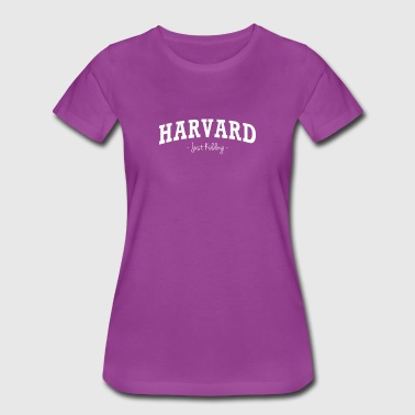 Harvard Kidding - Women's Premium T-Shirt