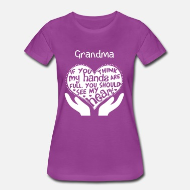 Cute Grandma - You should see my heart - Women's Premium T-Shirt