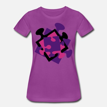 Child Advocate 4 Jigsaw Pieces - Women's Premium T-Shirt