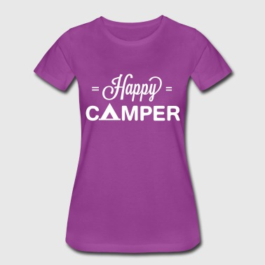 Cute Happy Camper - Women's Premium T-Shirt