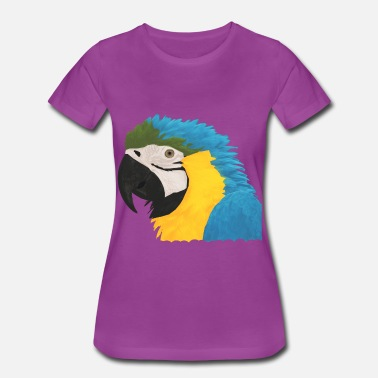 Parrot Clothes Parrot Head - Women's Premium T-Shirt