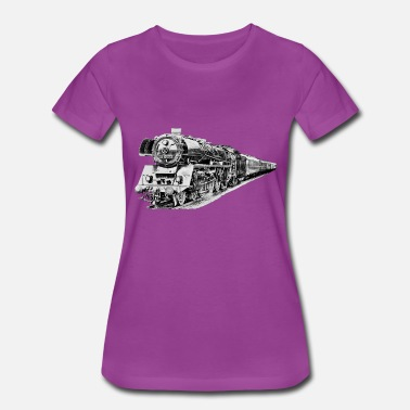 Steam Locomotive steam locomotive - Women's Premium T-Shirt