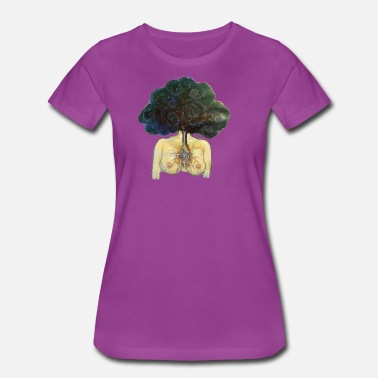 Breast Frog Tree of Life Woman - Women's Premium T-Shirt