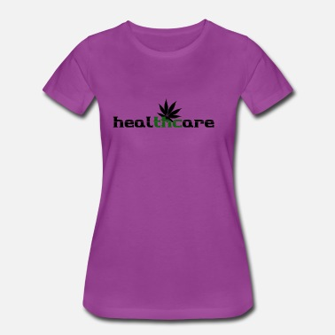 Healthcare Thc healthcare with leaf - Women's Premium T-Shirt