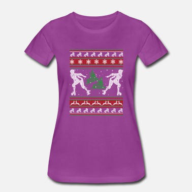 Roller Derby Clothing Roller Derby Shirts - Roller Derby Christmas Shirt - Women's Premium T-Shirt