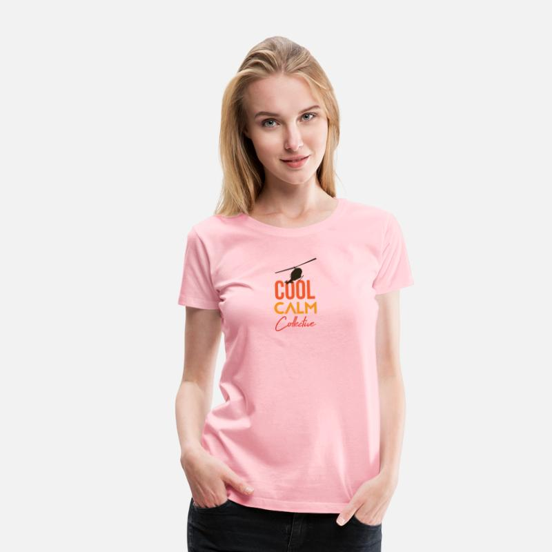 edcb978f Cool Calm Collective helicopter chopper Women's Premium T-Shirt |  Spreadshirt