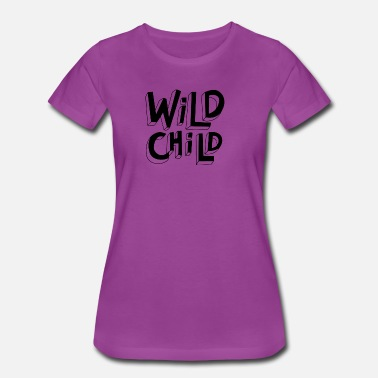 Wild Wild Child - Women's Premium T-Shirt