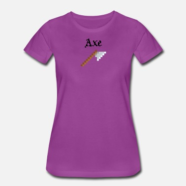 Axs Art Axe - Women's Premium T-Shirt