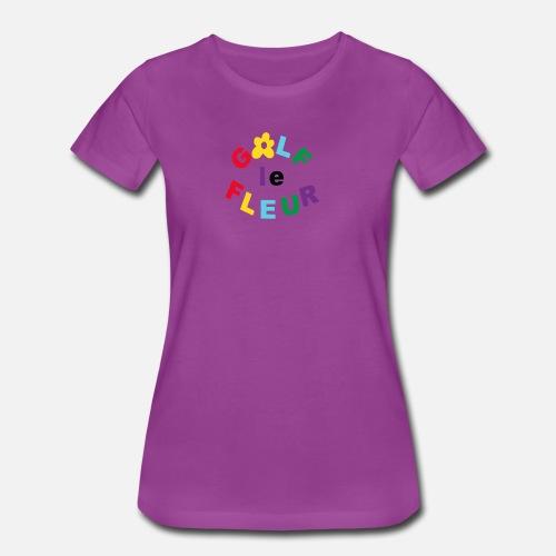 c8dad455848ff9 Golf Le Fleur Parody - Women s Premium T-Shirt. Back. Back. Design. Front.  Front