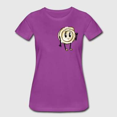 hardcoresandals waving cinnamon roll - Women's Premium T-Shirt