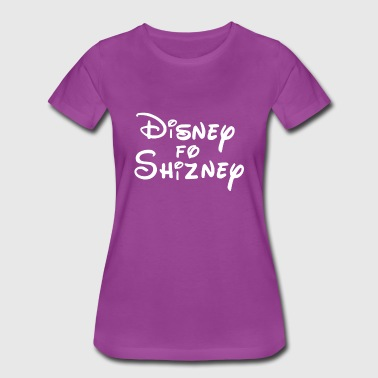White Disney4Shizney - Women's Premium T-Shirt