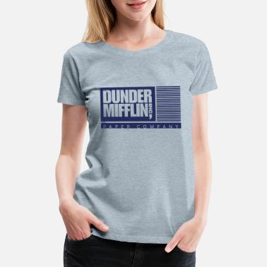 Office Dunder Mifflin, Inc. - Women's Premium T-Shirt