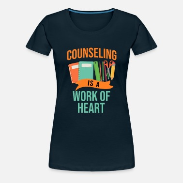 Troy School Counselor Counseling Week Quotes T-Shirt - Women's Premium T-Shirt