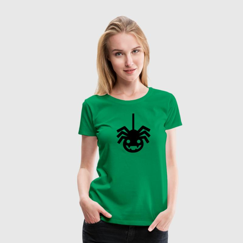 Halloween Spider - Women's Premium T-Shirt