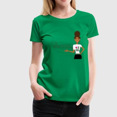 Wrappin' Natural  - Women's Premium T-Shirt