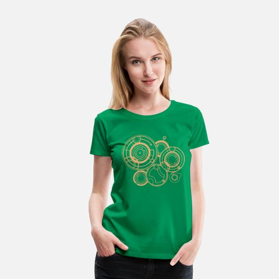 Doctor T-Shirts - River Song - Women's Premium T-Shirt kelly green