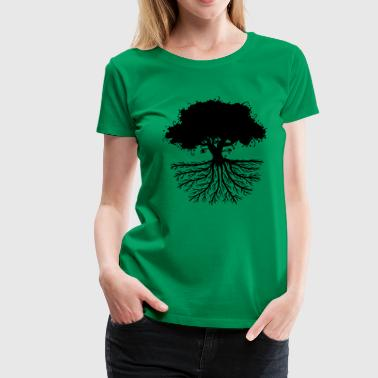 Tree Roots - Women's Premium T-Shirt