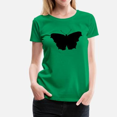Butterfly Silhouette Butterfly Silhouette - Women's Premium T-Shirt
