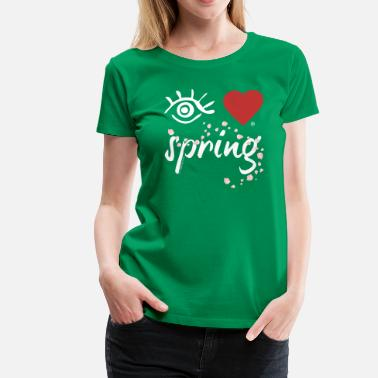 Eye-Love spring - Women's Premium T-Shirt