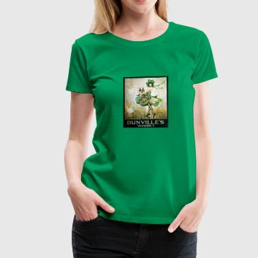 vintage Irish whiskey - Women's Premium T-Shirt