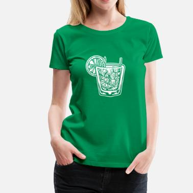 A Cocktail Funny cocktail - Women's Premium T-Shirt