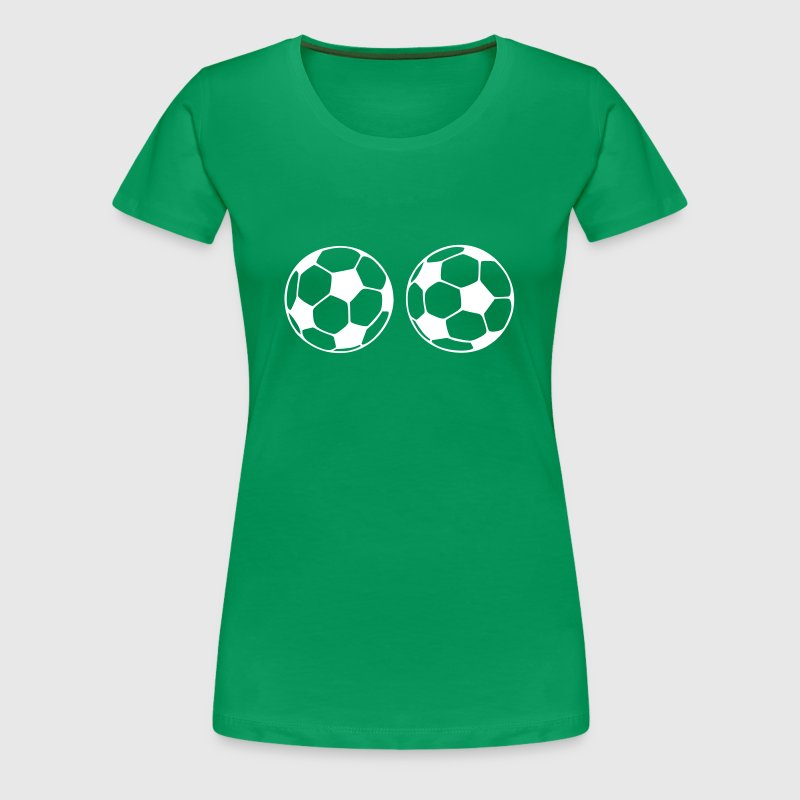 soccer ball boobs - Women's Premium T-Shirt
