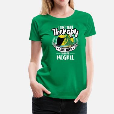 Negril Therapy Negril - Women's Premium T-Shirt