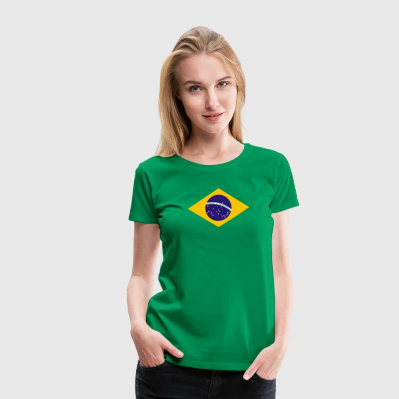 Flag Logo - Women's Premium T-Shirt