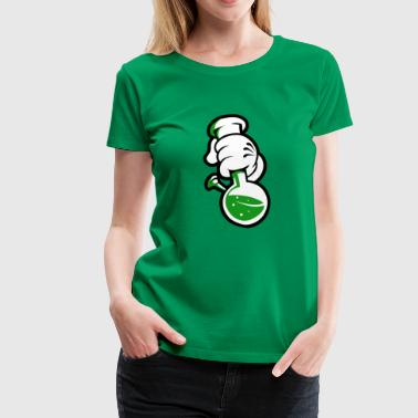 (fingers_with_bottle_png) - Women's Premium T-Shirt