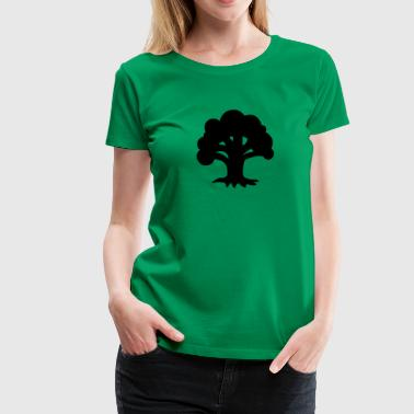 MTG Green Mana - Women's Premium T-Shirt